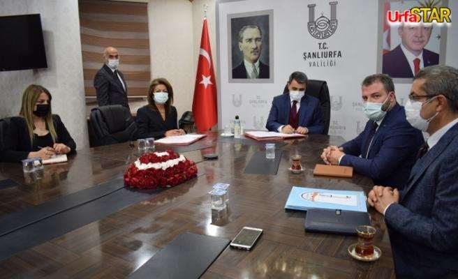 Urfa Valiliği'nde bir protokol daha imzalandı