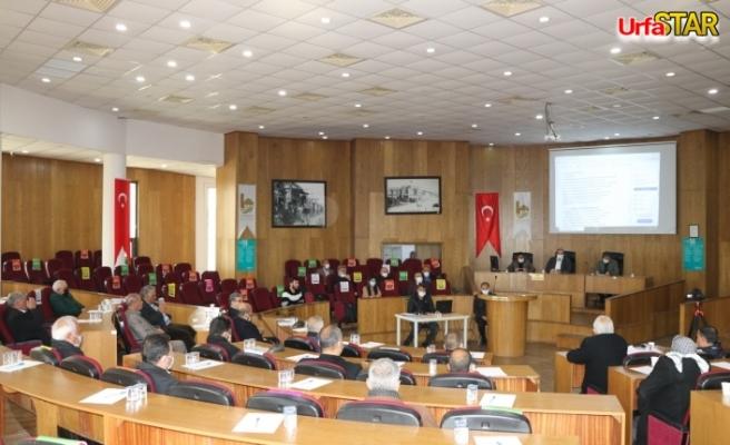Viranşehir Belediyesi meclisi toplandı