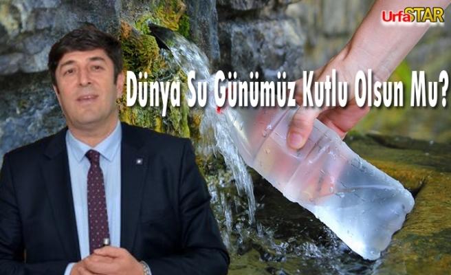 Bugün 22 Mart Dünya Su Günü!