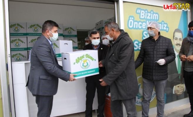 Haliliye Belediyesi çölyaklıların umudu olmaya devam ediyor