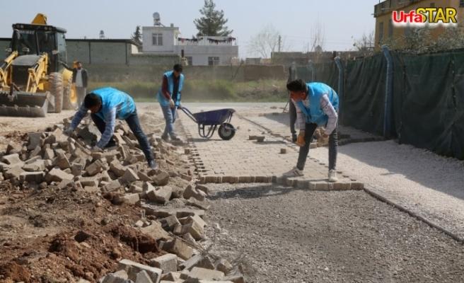 Haliliye'de 7 mahallede çalışmalar sürüyor