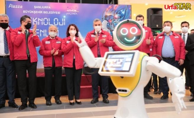 Urfa BŞB'den teknoloji şenliği