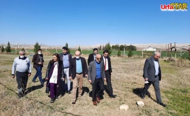 Urfa Büyükşehir ve Harran Üniversitesi vadi için ortalık yaptı