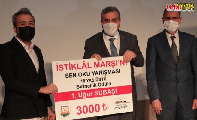 Urfa'da kazananlar belli oldu