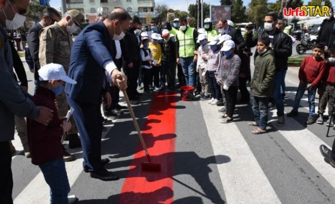 Urfa'da kırmızı çizgi çizildi...