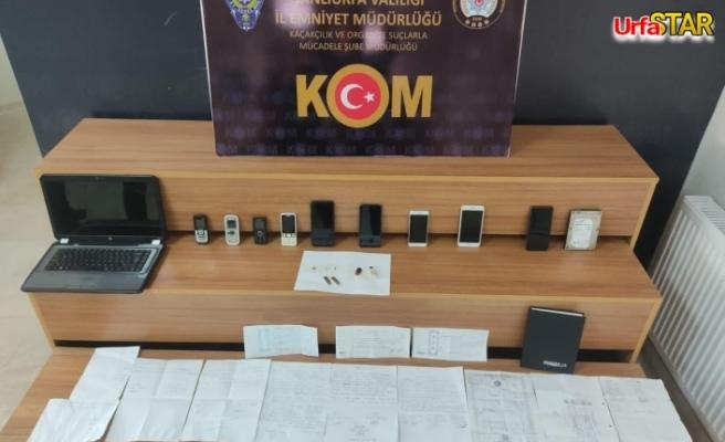 Urfa'da tefeci operasyonu! 7 Kişi yakalandı