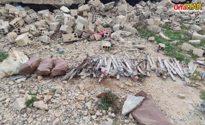 Urfa sınırında TNT patlayıcı ele geçirildi