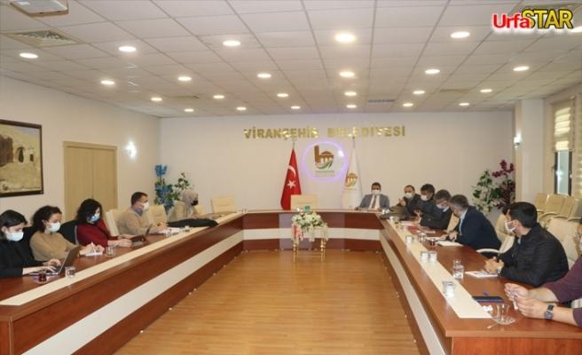 Viranşehir Belediyesi'nin başarılı projenin sözleşmesi imzalandı
