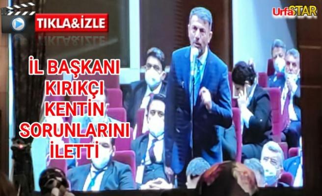 Erdoğan Urfa için talimat verdi...
