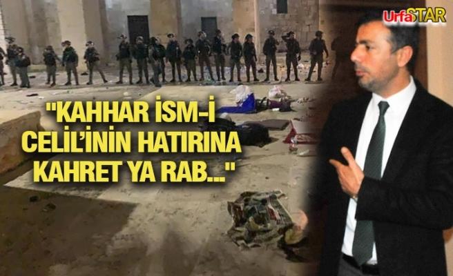 Başkan Kırıkçı'dan İsrail'e tepki