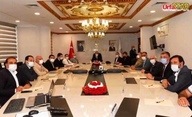 Urfa'da ki semt pazarları için olağan toplantı yapıldı