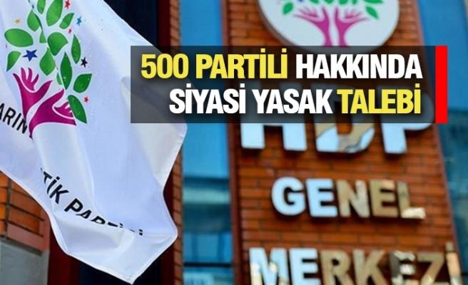 HDP Kapatılıyor mu?
