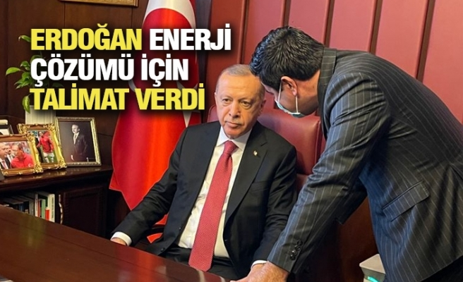 Vekil Yıldız Durumu Erdoğan'a İletti