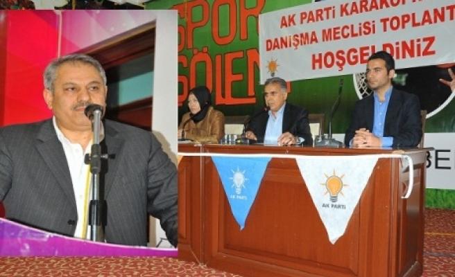 AK Parti Karaköprü, Nisan Ayı Danışma Meclisi toplantısını yaptı