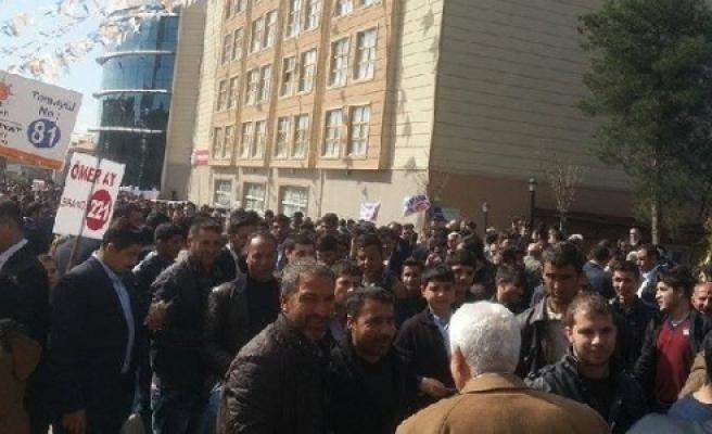 AK Parti'de heyecan başladı