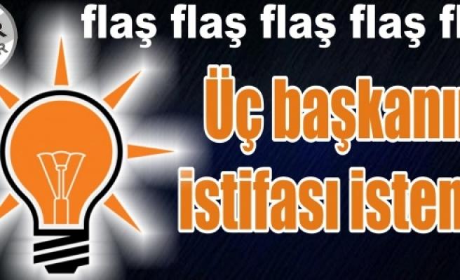 AK Parti'de Urfa depremi!