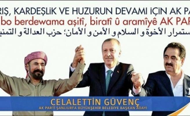 AK Parti'den 3 dilde çağrı!