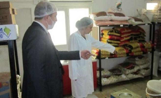 Akdeniz Oyunları İçin Yapılan Tesislerdeki Yemekhaneler Denetlendi