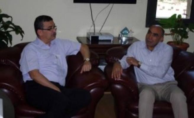 Güvenç, hangi BDP'li Başkanla görüştü
