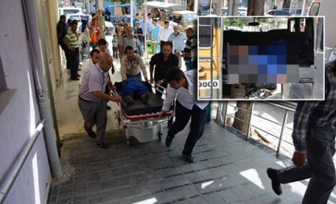 Askeri araç, kaçakların otomobiline çarptı 1 ölü