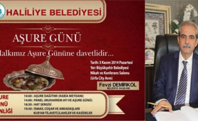 """""""AŞURE GÜNÜ""""NE DAVETLİSİNİZ"""