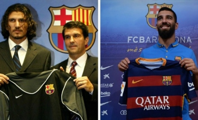 Barcelona'da oynamış Urfasporlu…