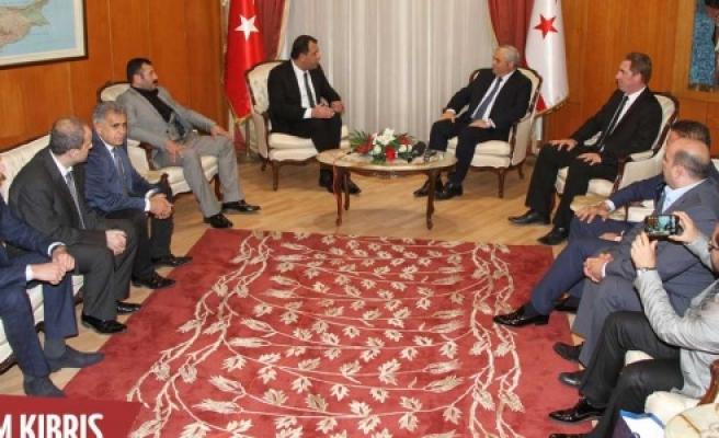 Başbakan Urfa heyetini kabul etti