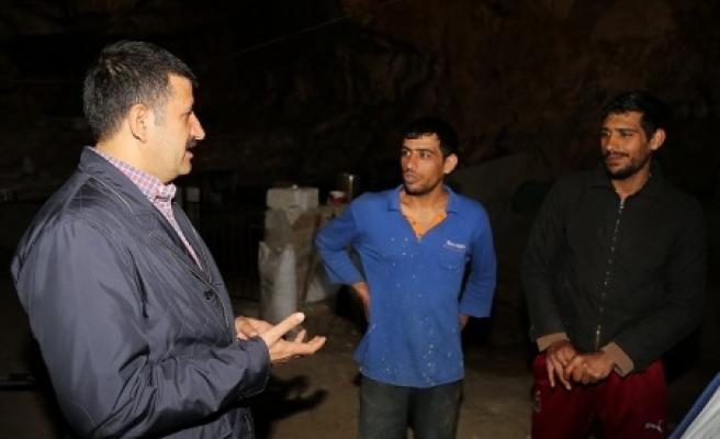 Başkan Ekinci, 'mağaraları turizme kazandırmak istiyoruz'