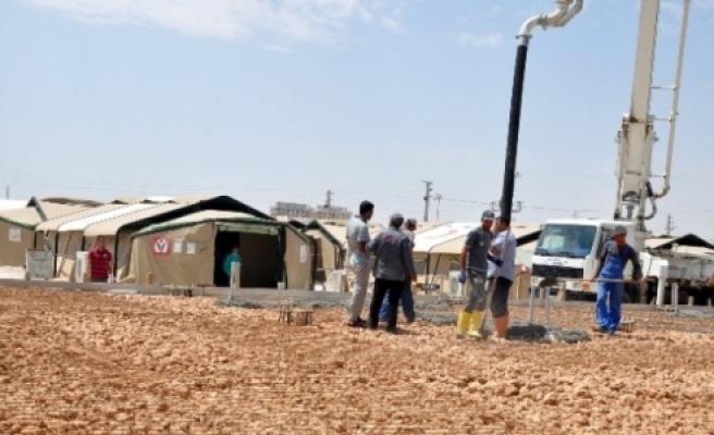 Çadır kente hastane yapılıyor