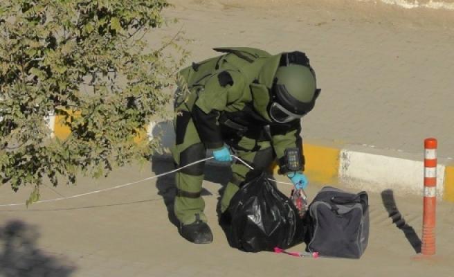 Ceylanpınar'da bomba paniği
