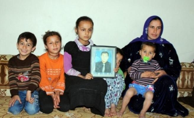 Çiftçi ailesi endişeyle bekliyor