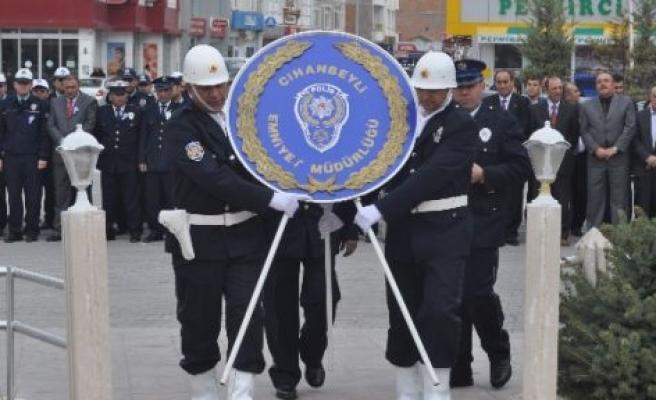Cihanbeyli'de Polis Haftası Kutlamaları