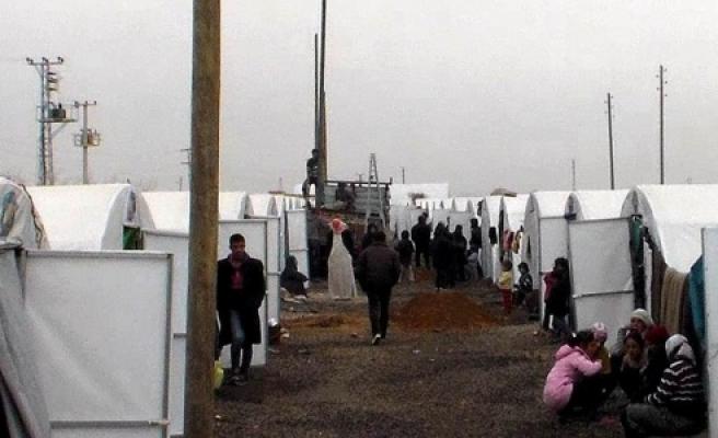 DEDAŞ, Çadır kente elektrik şebekesi döşedi