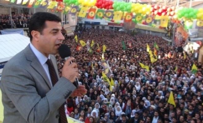 Demirtaş, Urfa'da miting yapacak