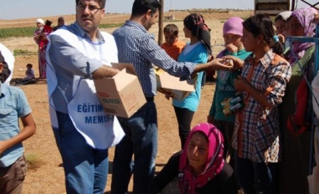 Eğitim Bir Sen'den Kobani'ye destek