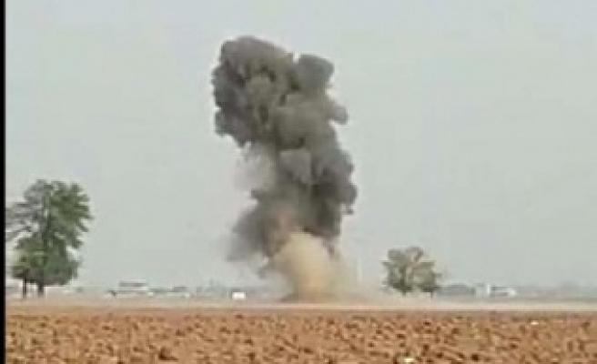 El bombaları patlatıldı
