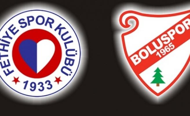 Fethiye ve Boluspor'un kader haftası!