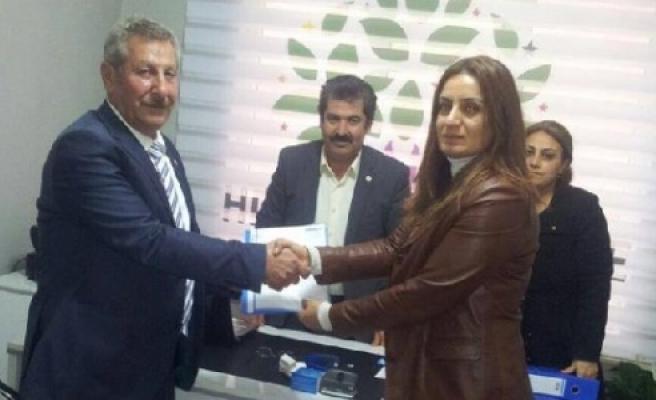 Geçgel, HDP'den aday oldu
