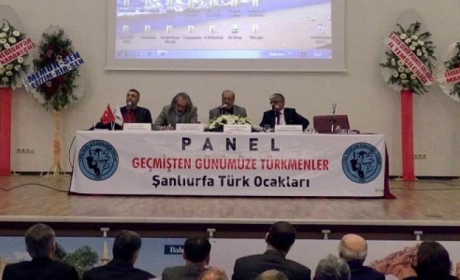 """""""Geçmişten Günümüze Türkmenler"""" paneli yapıldı"""