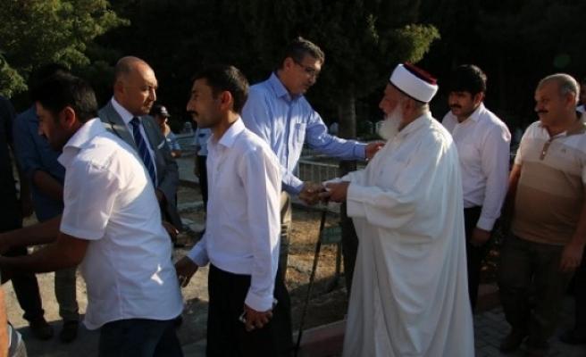 Güvenç taziyeleri Urfa'da kabul edecek