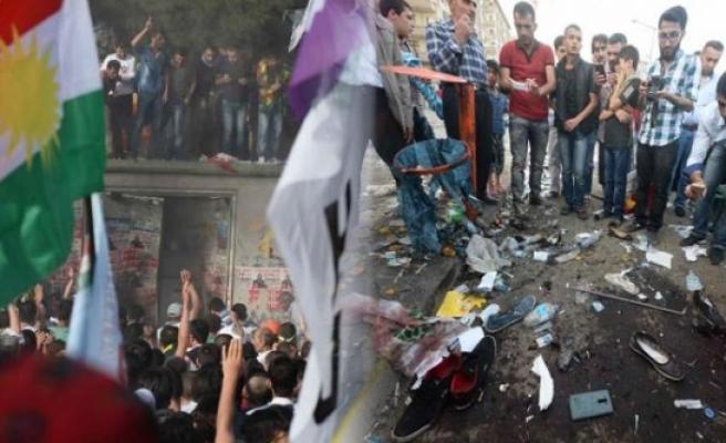 HDP mitingine bombalı saldırının şüphelisi tutuklandı!