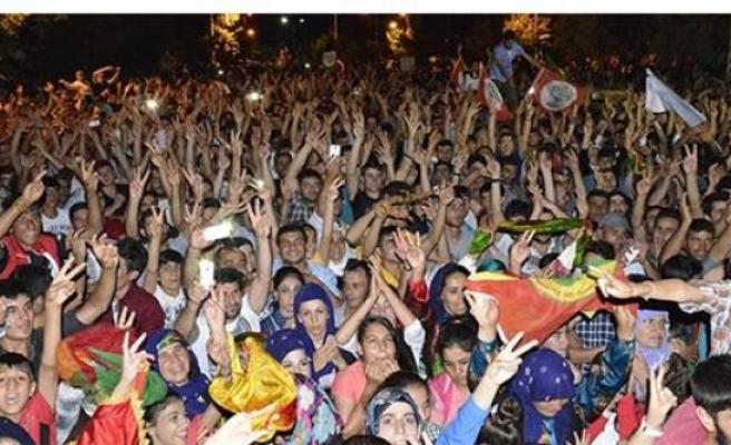HDP Urfa'da kılpayı kaçırdı