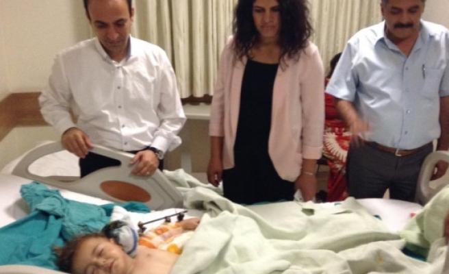 HDP'li Vekiller Hastanede...