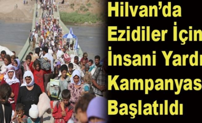Hilvan'da Yezidiler için Yardım Kampanası Başlatıldı