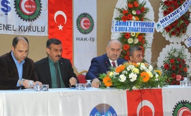 """Eyyüpoğlu; """"Emaneti devir aldık"""""""