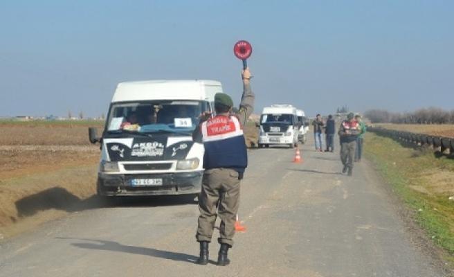 Jandarma denetimde
