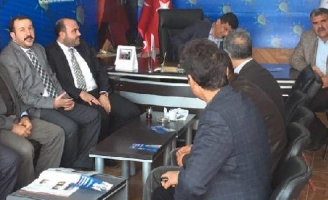 Karahan'dan Özyavuz'a ziyaret