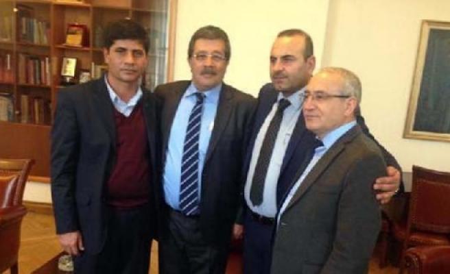 Kobani başkanı Türkiye'de