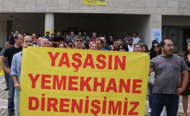 Mersin Üniversitesi'nde Yemek Boykotu