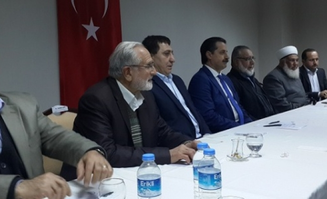 PYD Lideri'nin kardeşi Urfa'da konuştu